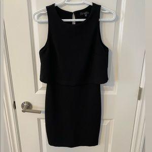 Dynamite Black Body Con Dress
